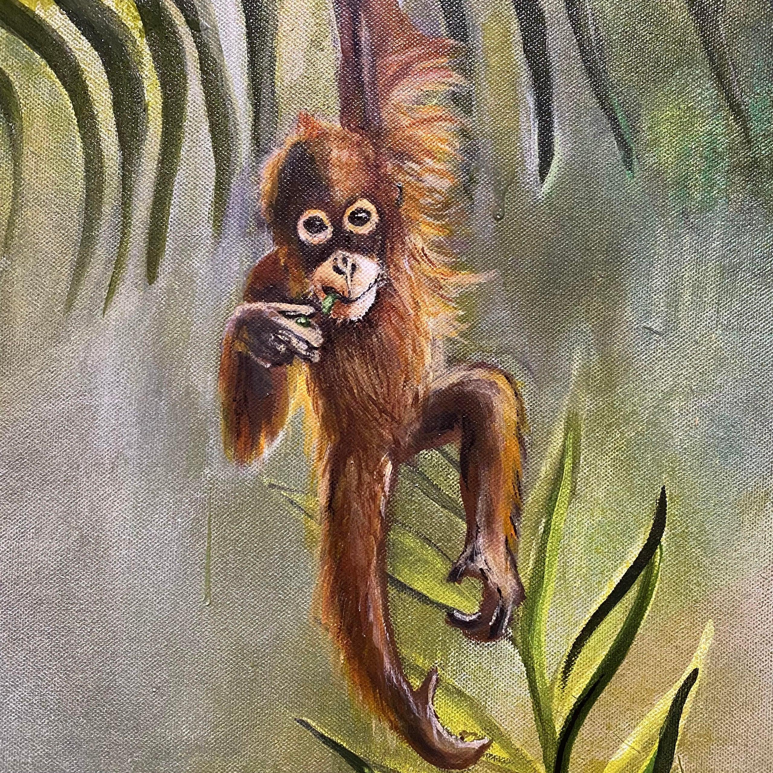 Garden of Eden painting (alt. view 3)