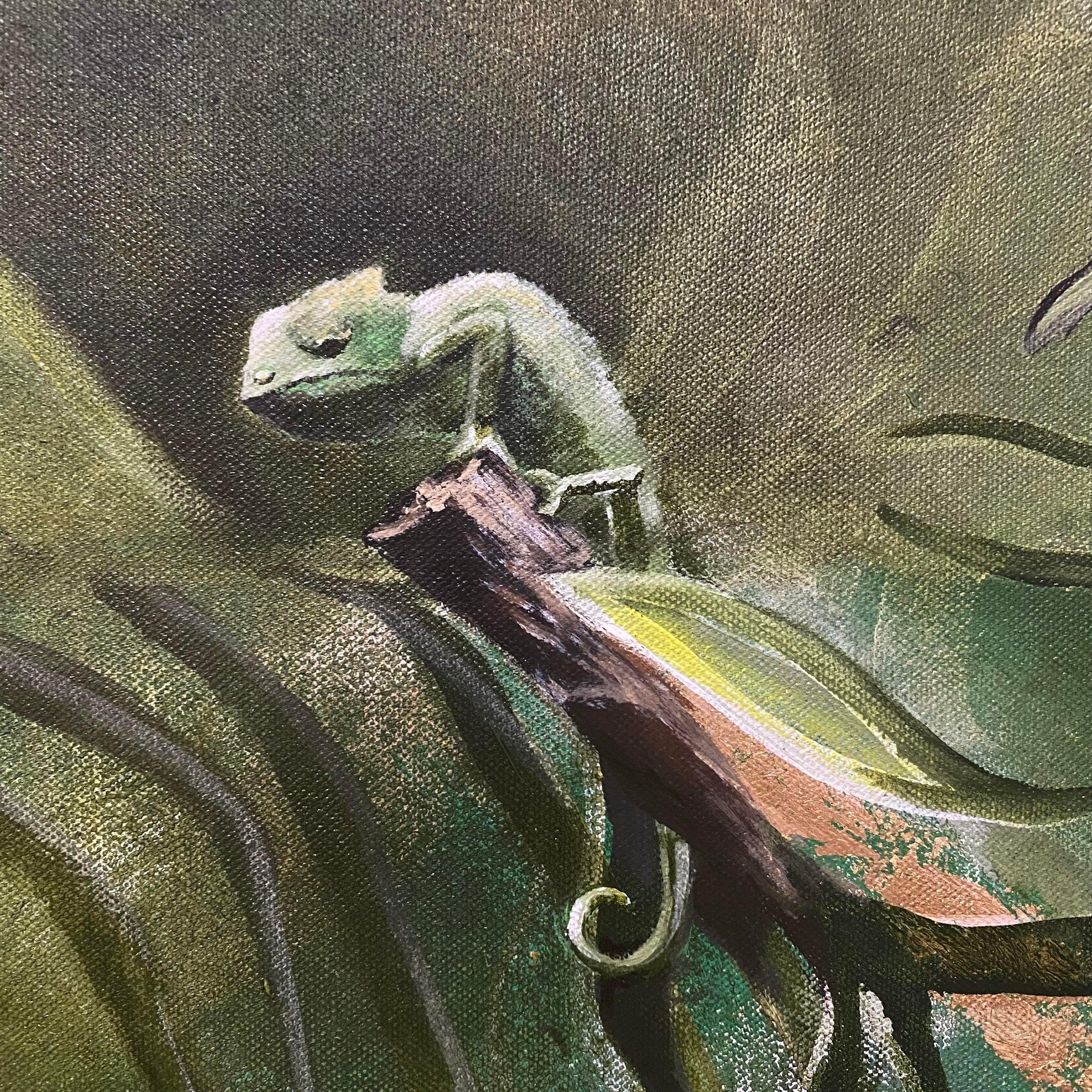 Garden of Eden painting (alt. view 4)