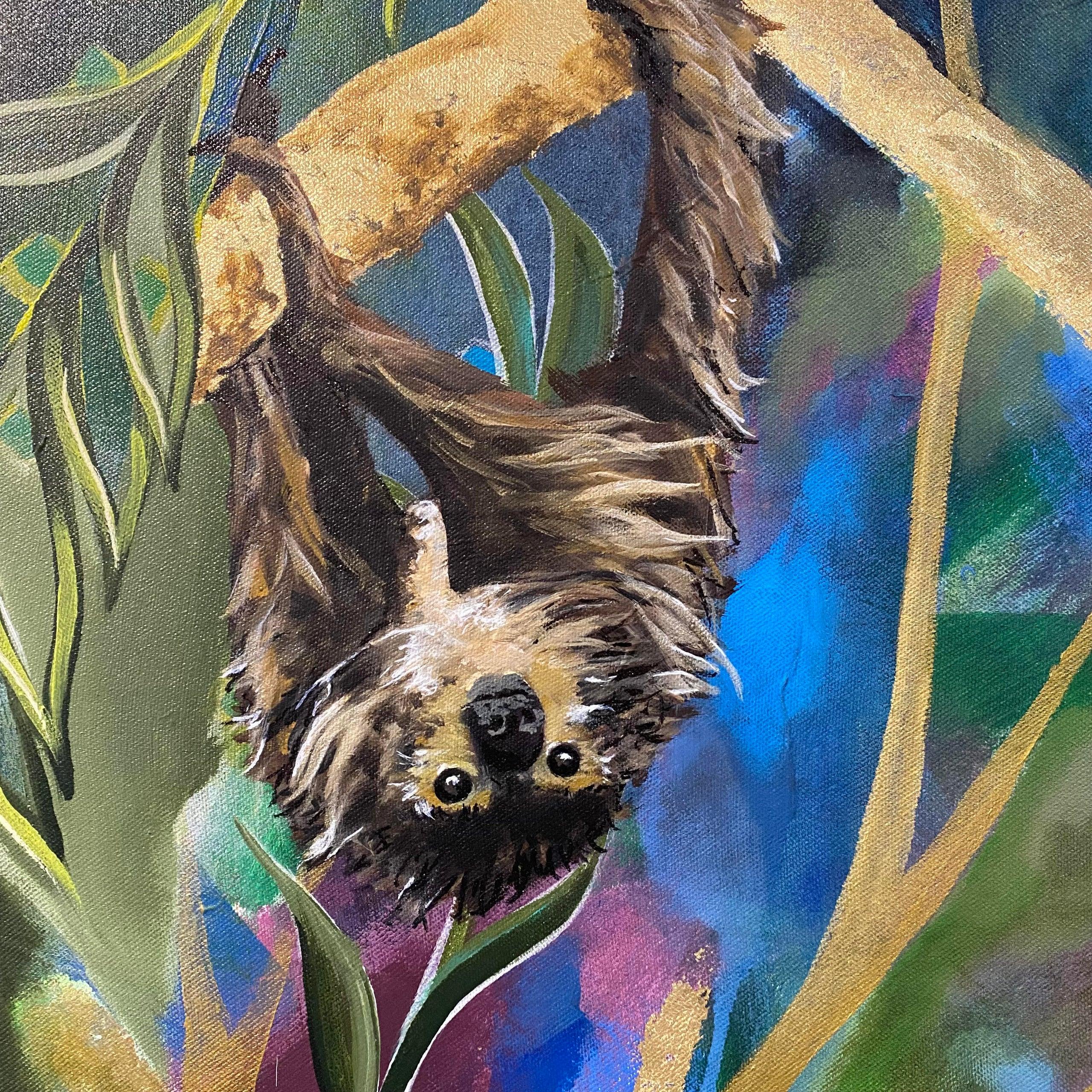 Garden of Eden painting (alt. view 6)