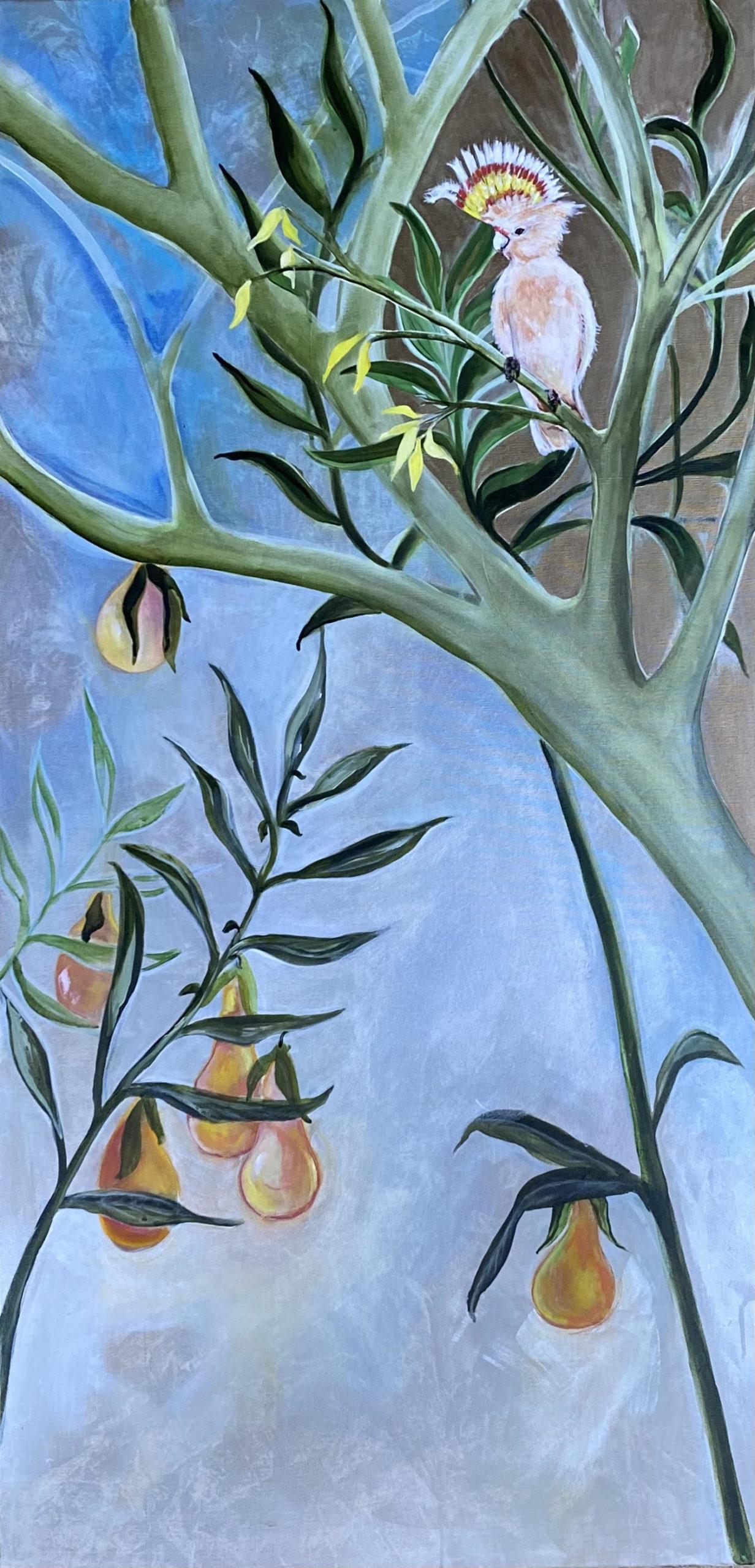 Perch & Pair painting (alt. view 2)