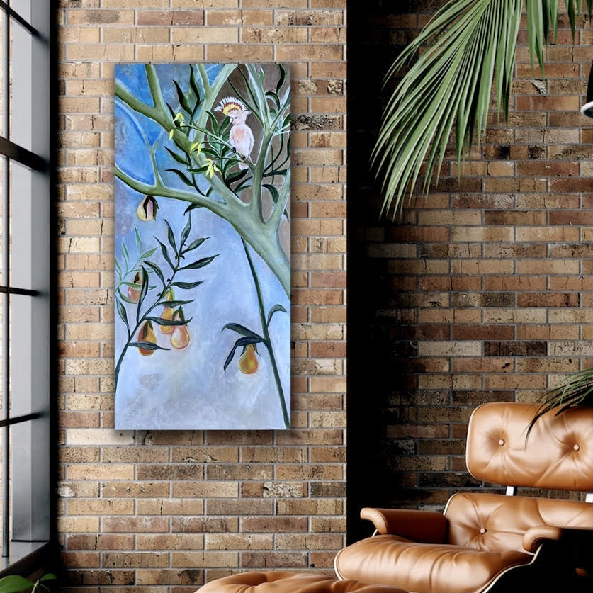 Perch & Pair painting