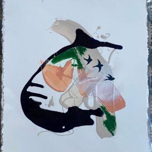 Abstracted Flight III painting