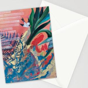 Garden of Freedom folded cards