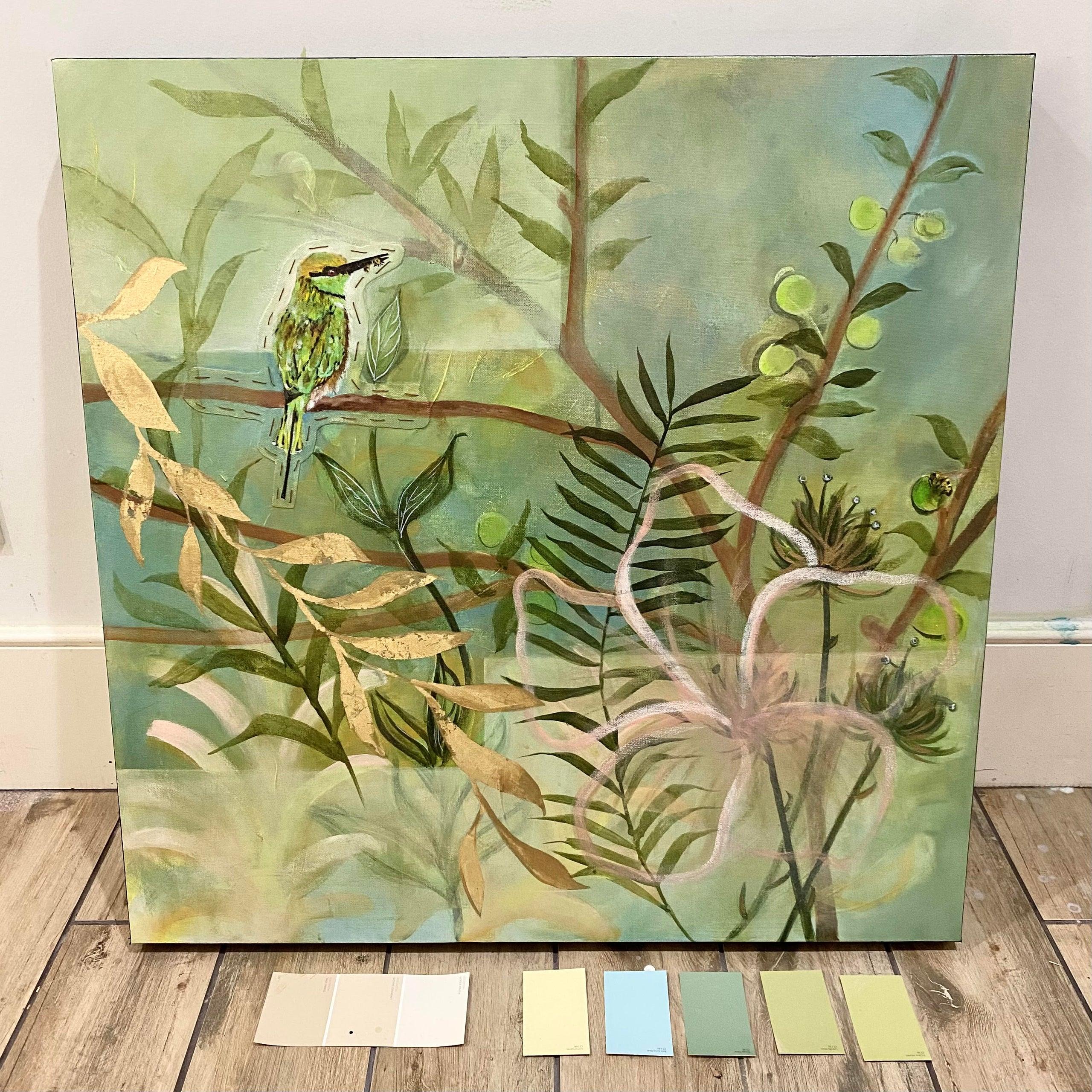 In Between Dreams painting (alt. view)