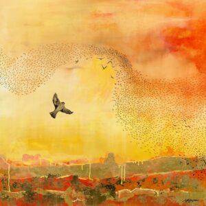 On the Horizon painting