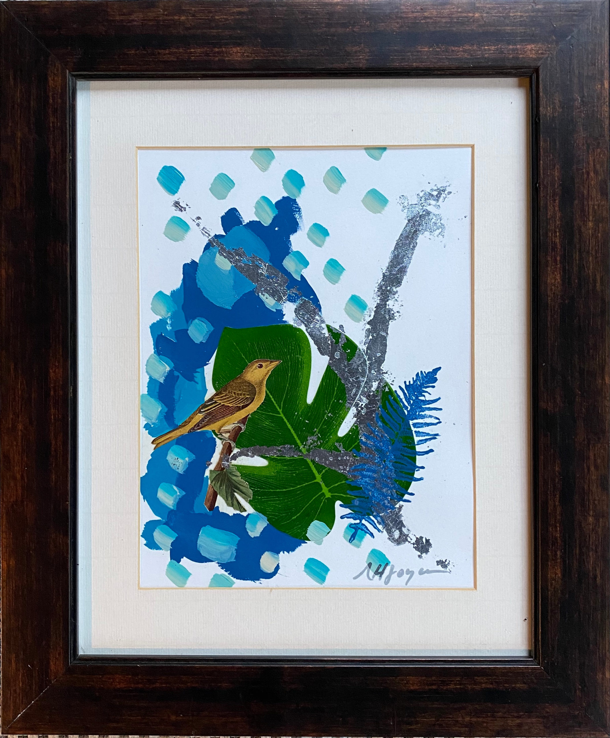 Orchard Oriole painting