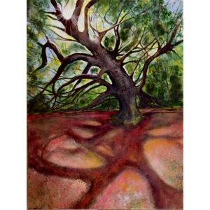 Shadow of Angel Oak painting
