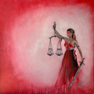 The Justice of Time painting