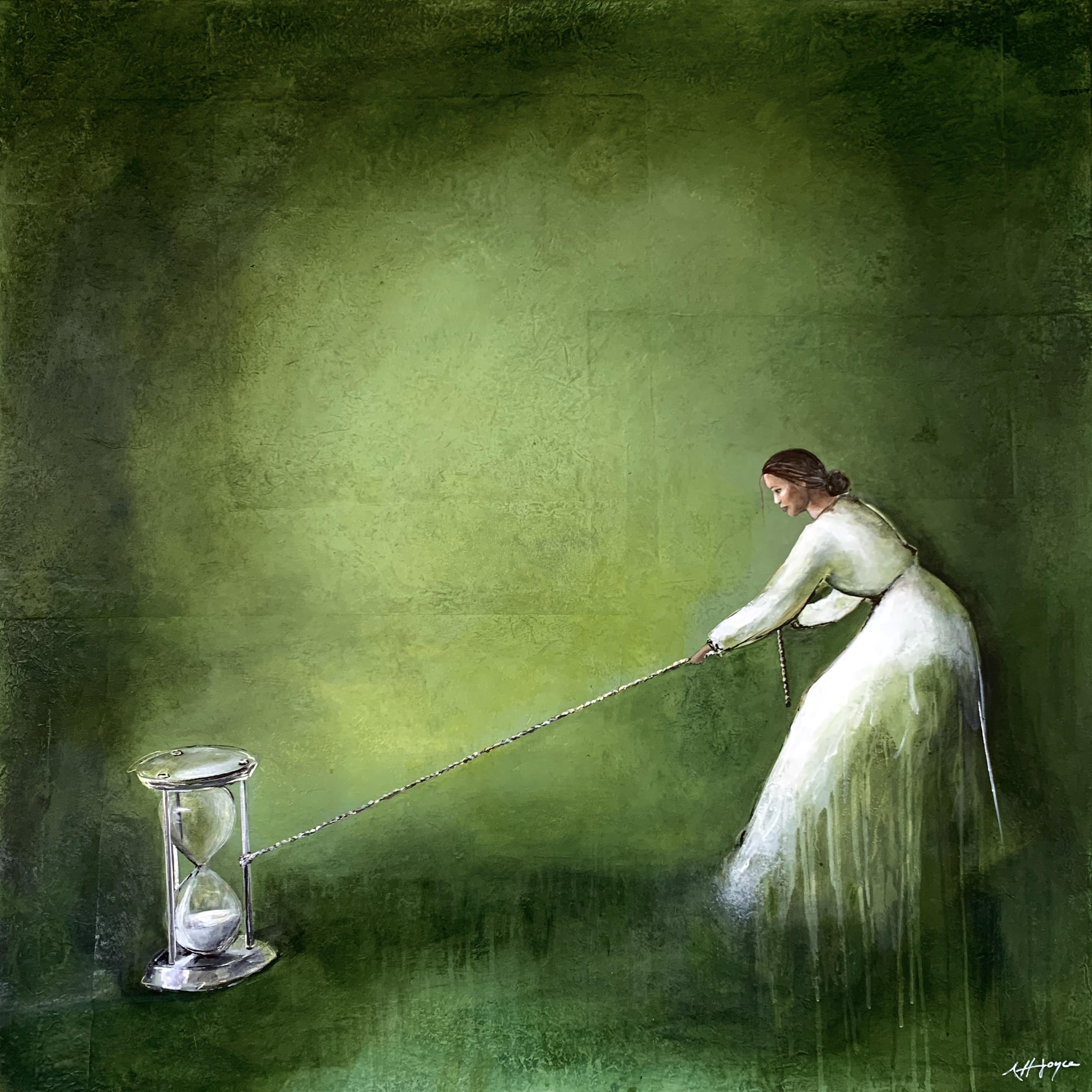 The Pull of Time painting
