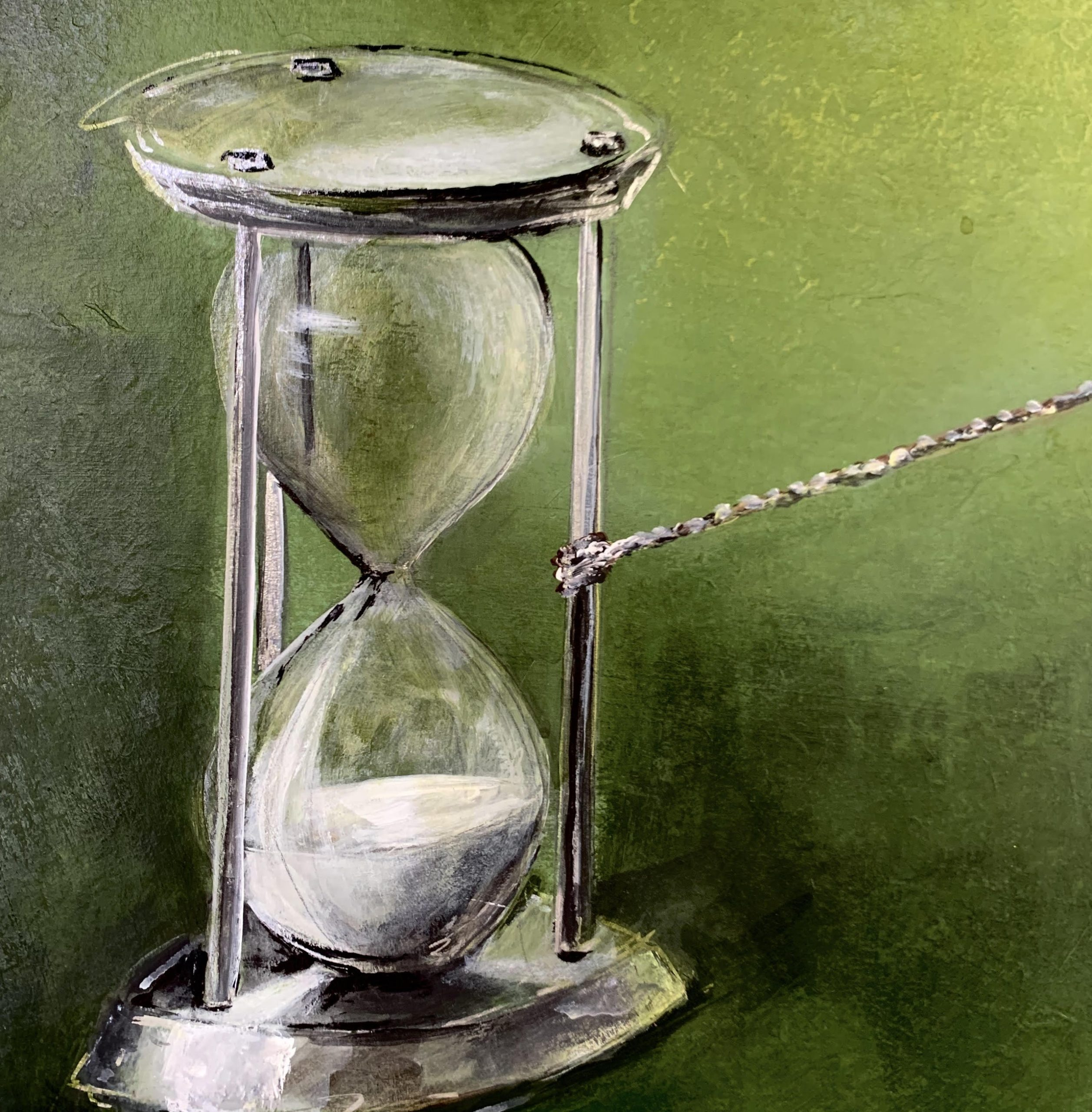 The Pull of Time painting (alt. view)