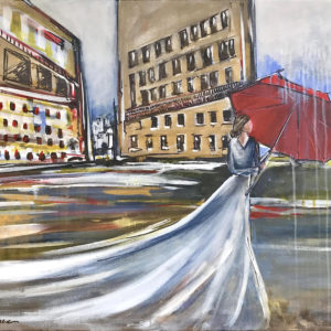 Without Hesitation painting